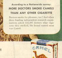 Advertising from the 1940's was a powerful persuader.